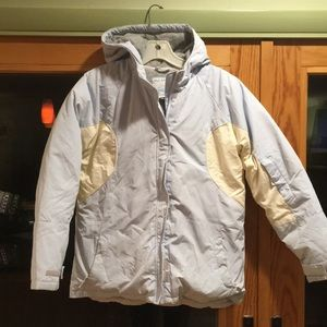 Girls Down Old Navy ski jacket.